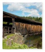 Perrine's Bridge In May Fleece Blanket