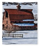 Perry Park Barn Fleece Blanket