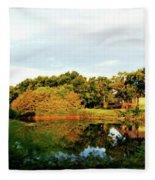 Perry Reflection Photo Fleece Blanket