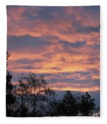 Perrydale Sunrise Fleece Blanket