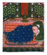 Persia: Lovers, 1527-28 Fleece Blanket