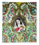 Persian Lady Fleece Blanket