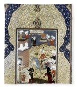 Persian Nobleman Fleece Blanket