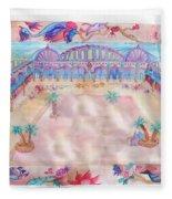 Persian Palace Fleece Blanket