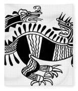 Peruvian Chimera Fleece Blanket