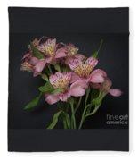 Peruvian Lily Fleece Blanket