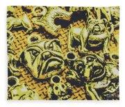 Pet Pendant Dogs Fleece Blanket