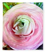 Flower, Petal Labyrinth Fleece Blanket
