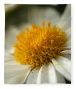 Petals And Pollen Fleece Blanket