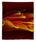 Petals Like Fingertips By Kaye Menner Fleece Blanket