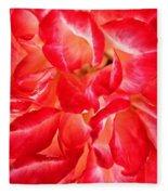 Petals Of Rose Fleece Blanket