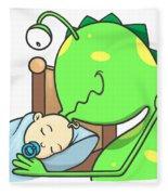 Peter And The Closet Monster, Kiss Fleece Blanket