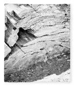 Petrified Wood #5 Fleece Blanket