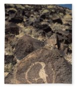 Petroglyph Fleece Blanket