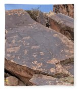 Petroglyphs Fleece Blanket