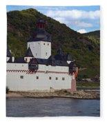 Pfalz Castle Fleece Blanket