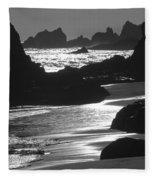 Pfeiffer Beach Sp 8192 Fleece Blanket