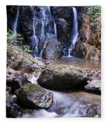 Pha Sua Waterfall Fleece Blanket