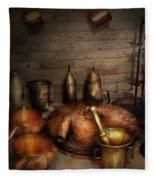Pharmacy - Alchemist's Kitchen Fleece Blanket
