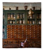 Pharmacy - Right Behind The Counter Fleece Blanket