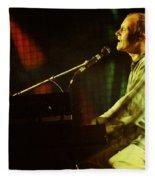 Phil Collins-0854 Fleece Blanket