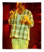 Phil Collins-0872 Fleece Blanket