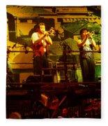 Phil Collins-horns-0906 Fleece Blanket