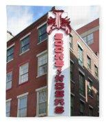 Philadelphia - Bookbinders Fleece Blanket