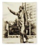 Philadelphia Mayor - Frank Rizzo Fleece Blanket