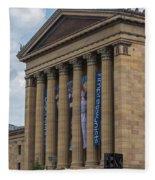 Philadelphia Museum Of Art  Fleece Blanket