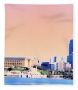 Philadelphia Panoramic Fleece Blanket