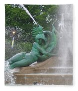 Philadelphia - Swann Memorial Fountain - Logan Square Fleece Blanket
