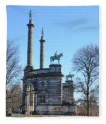 Philadelphia - The Smith Memorial Arch Fleece Blanket