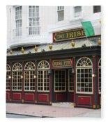 Philadelphia's Famous Irish Pub Fleece Blanket