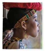 Philippine Dancer Fleece Blanket