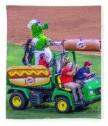 Phillie Phanatic Hot Dog Shooter Fleece Blanket