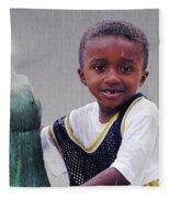 Philly Fountain Kid Fleece Blanket