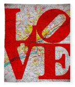 Philly Love V1 Fleece Blanket