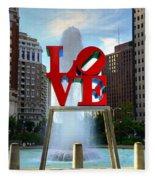 Philly Love Fleece Blanket