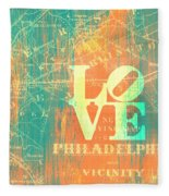 Philly Love V10 Fleece Blanket