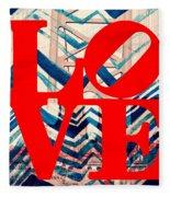 Philly Love V17 Fleece Blanket