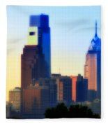 Philly Morning Fleece Blanket