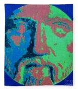 Philosopher - Pythagoras Fleece Blanket