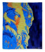Philosopher - Socrates 3 Fleece Blanket