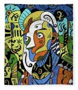 Philosopher Fleece Blanket