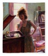 Phonograph Days Fleece Blanket