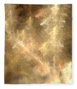 Phosphorescent Forest Fleece Blanket