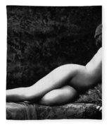 Photo Erotique D'une Femme Nue Fleece Blanket