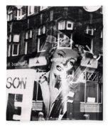Photograph Of Marilyn Fleece Blanket