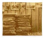 Photographic Memories Fleece Blanket
